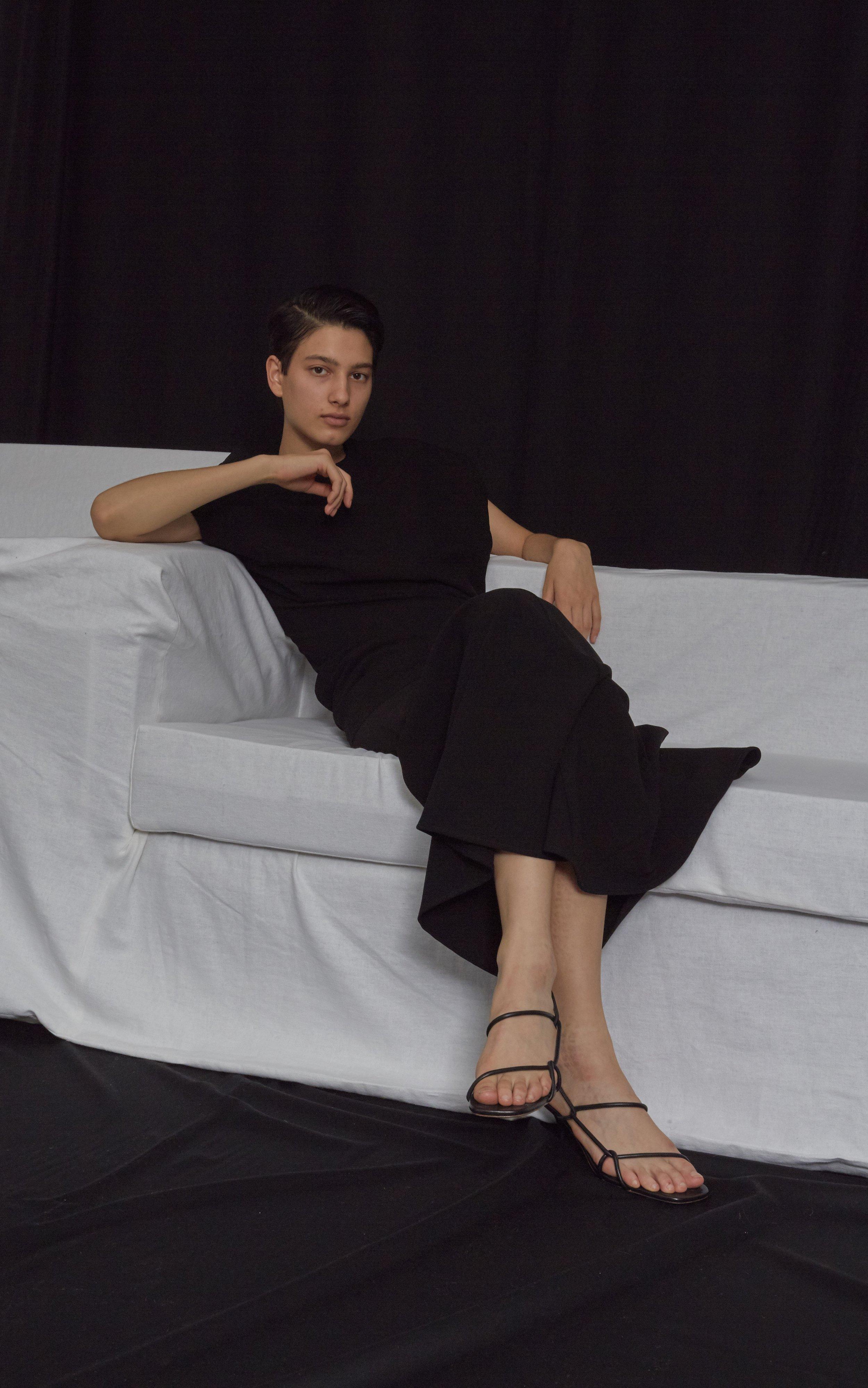 SMITHSON   twisted seam dress