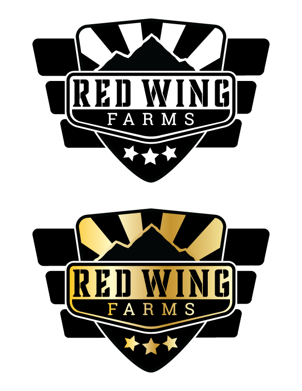 Red Wing Farms Logo Concept