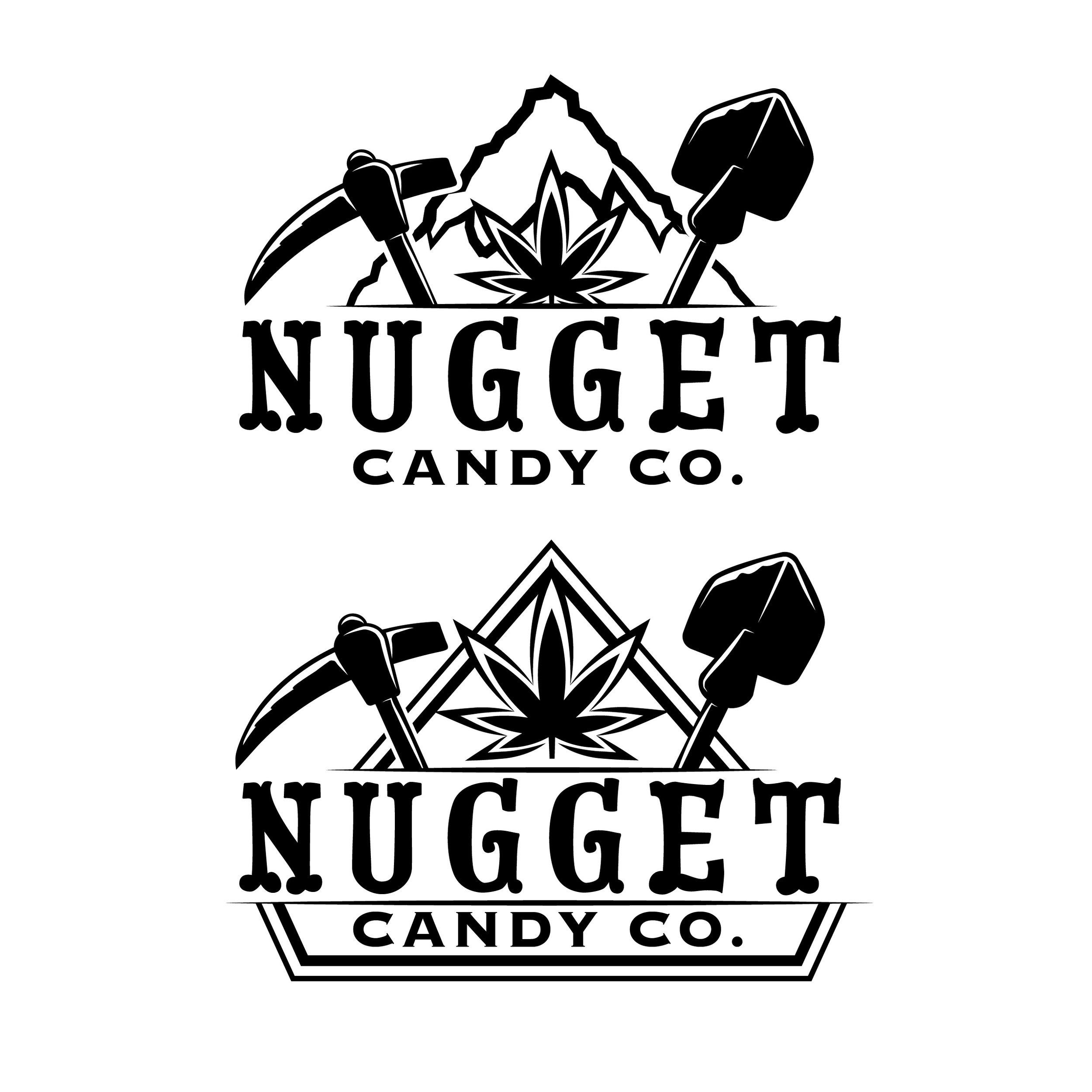 Nugget Candy Co Logo Concept