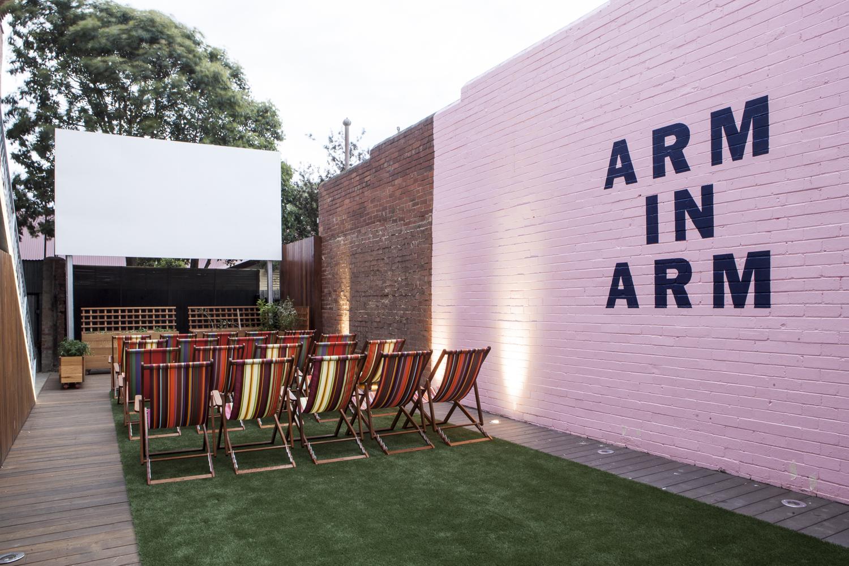 Westgarth cinema courtyard 1