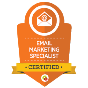 digitalMarketer Certified Email Marketing Specialist