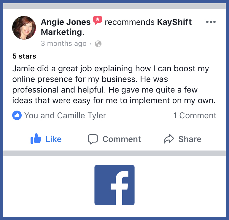 Angie Jones Facebook recommendation.jpg
