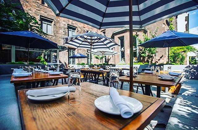 It's Sunday, the weather in NYC is perfect👌🏼...check out Jue Lan's Imperial Garden🍃for some fresh air while you eat🙌🏼☀️♣️ @juelanclub #food #nightlife #club #jointheclub #clubsdotcom