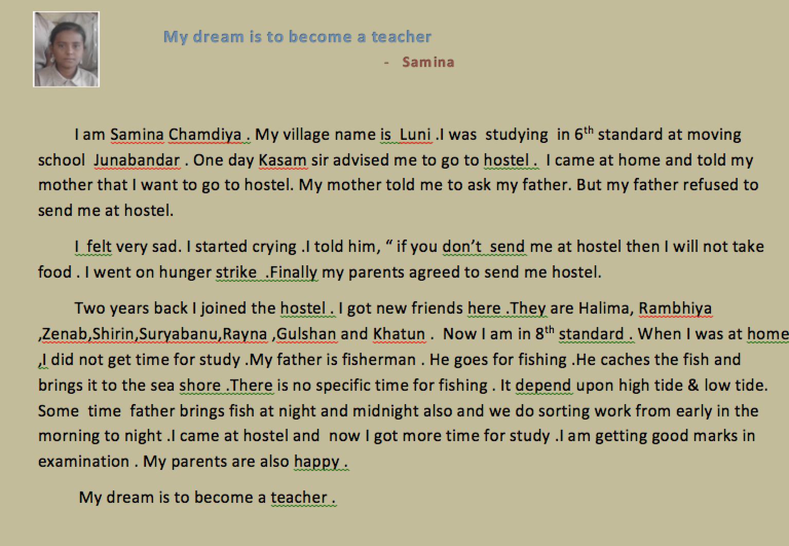 January news from Gujarat - Samina writes.......