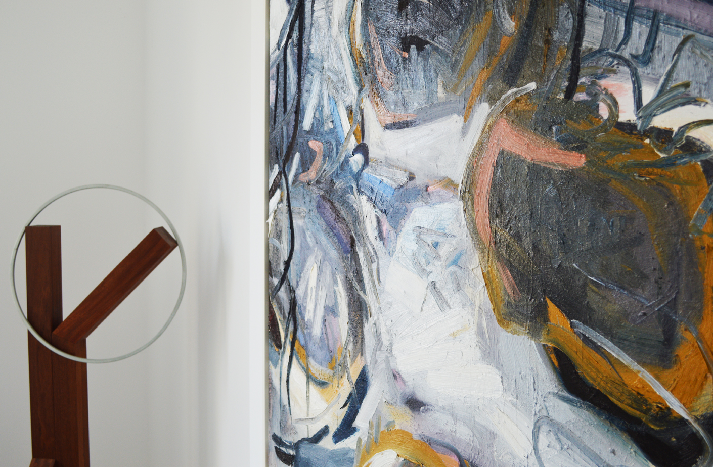 hansaviertel,  2017   acrylic on canvas  190 x 300cm  price on application