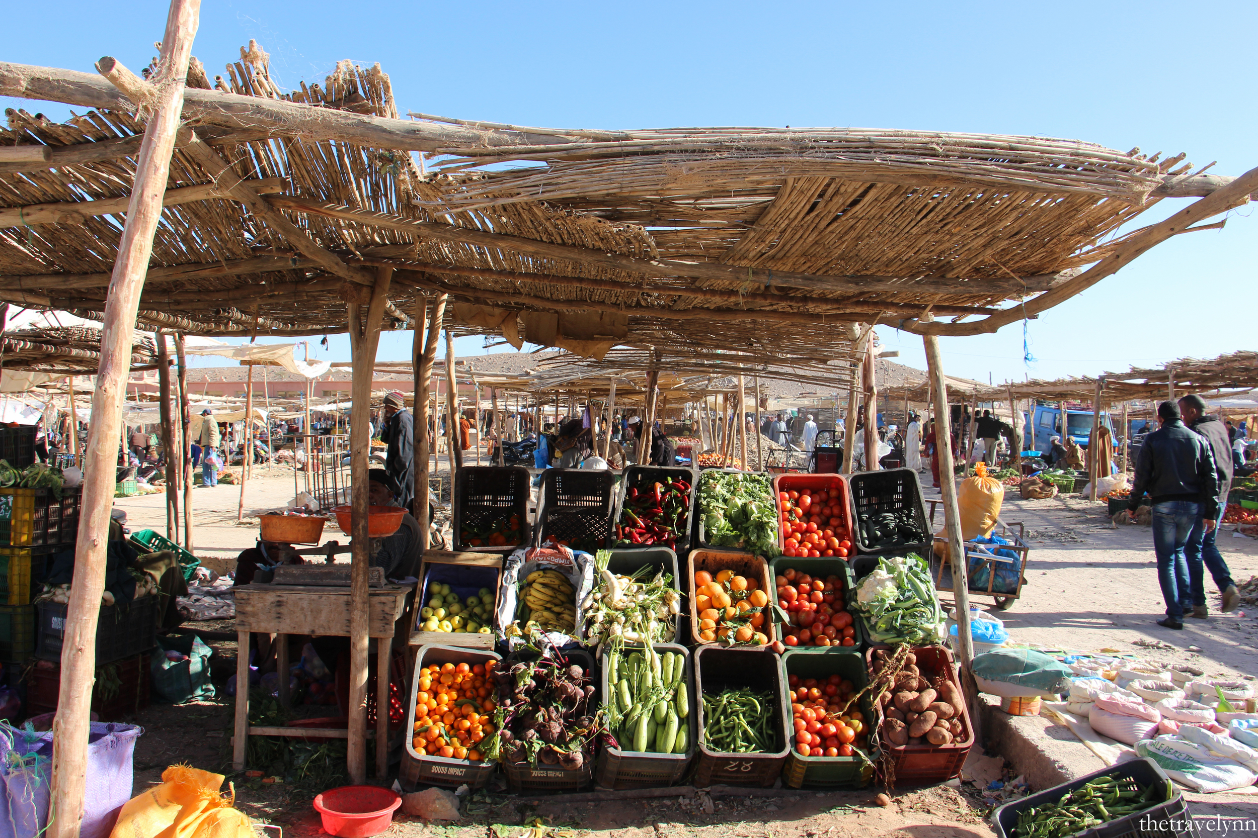 Berber Market Vegetables