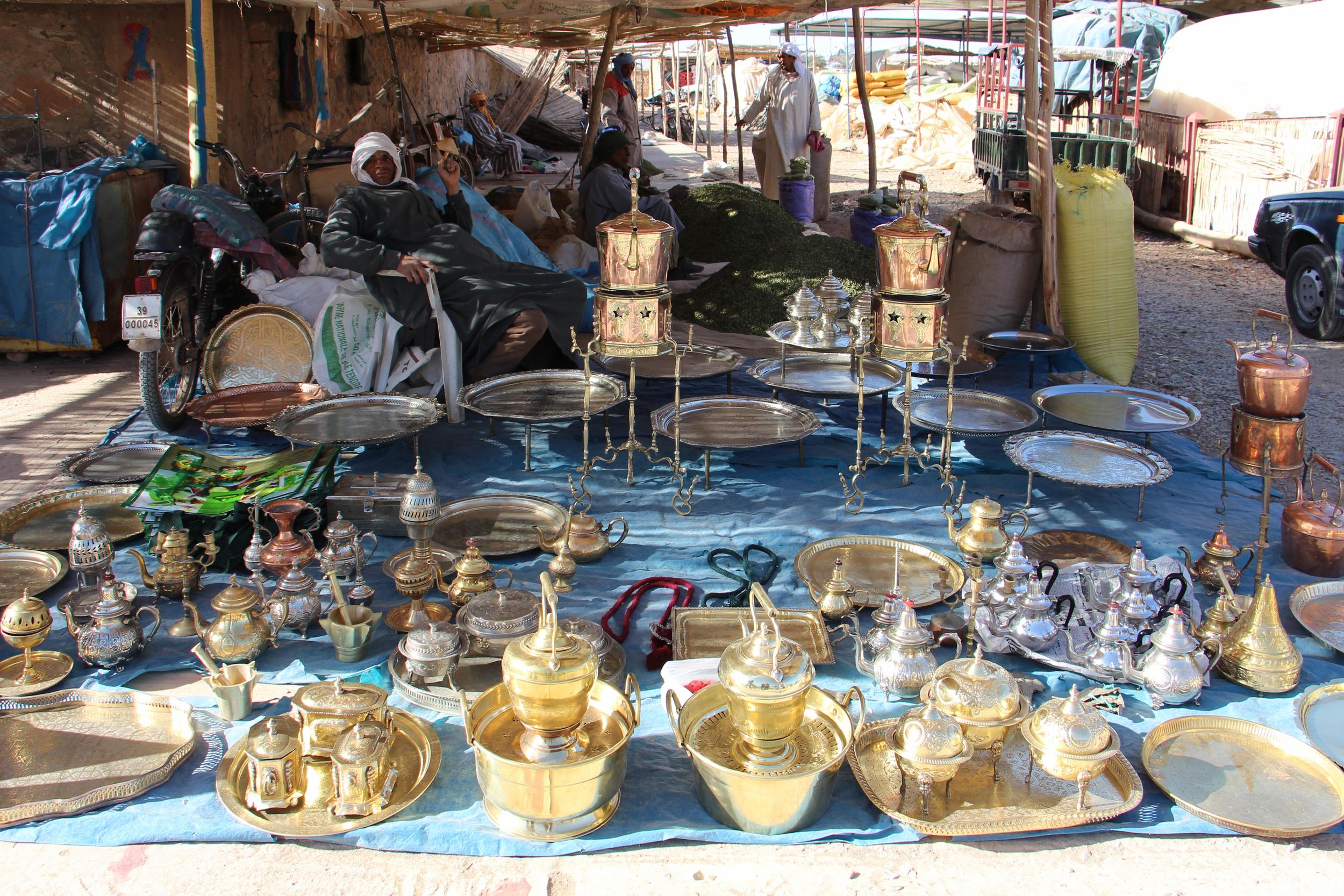 Berber Market Aladdin Lamp