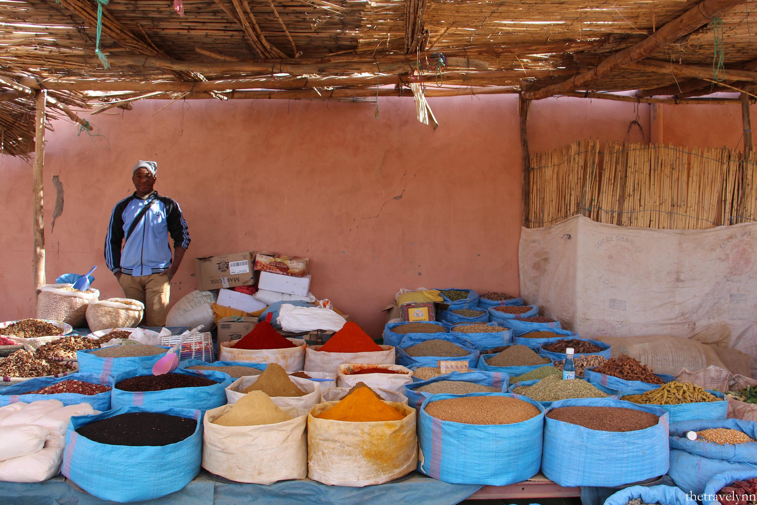 Berber Market spices