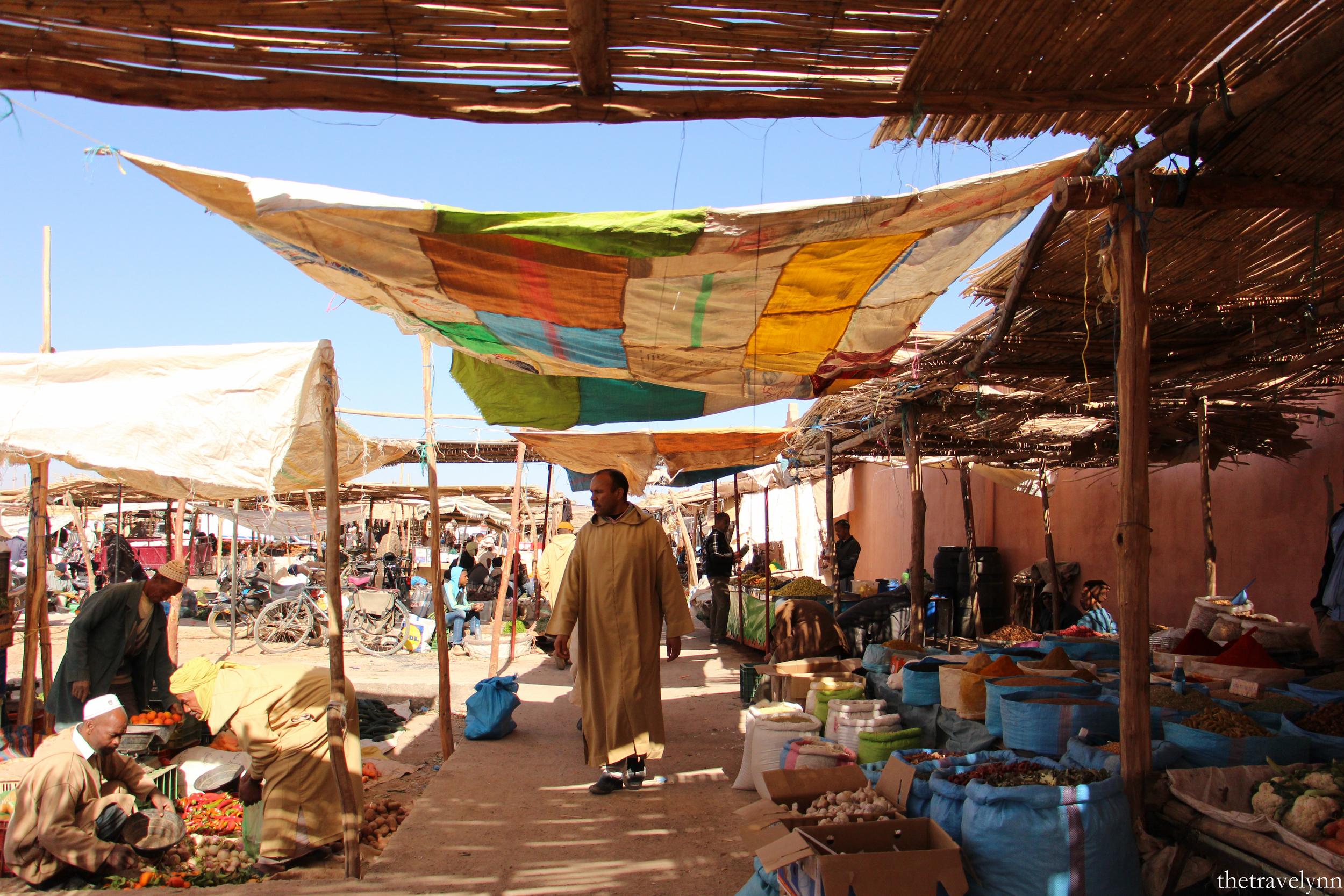 Berber Market patron