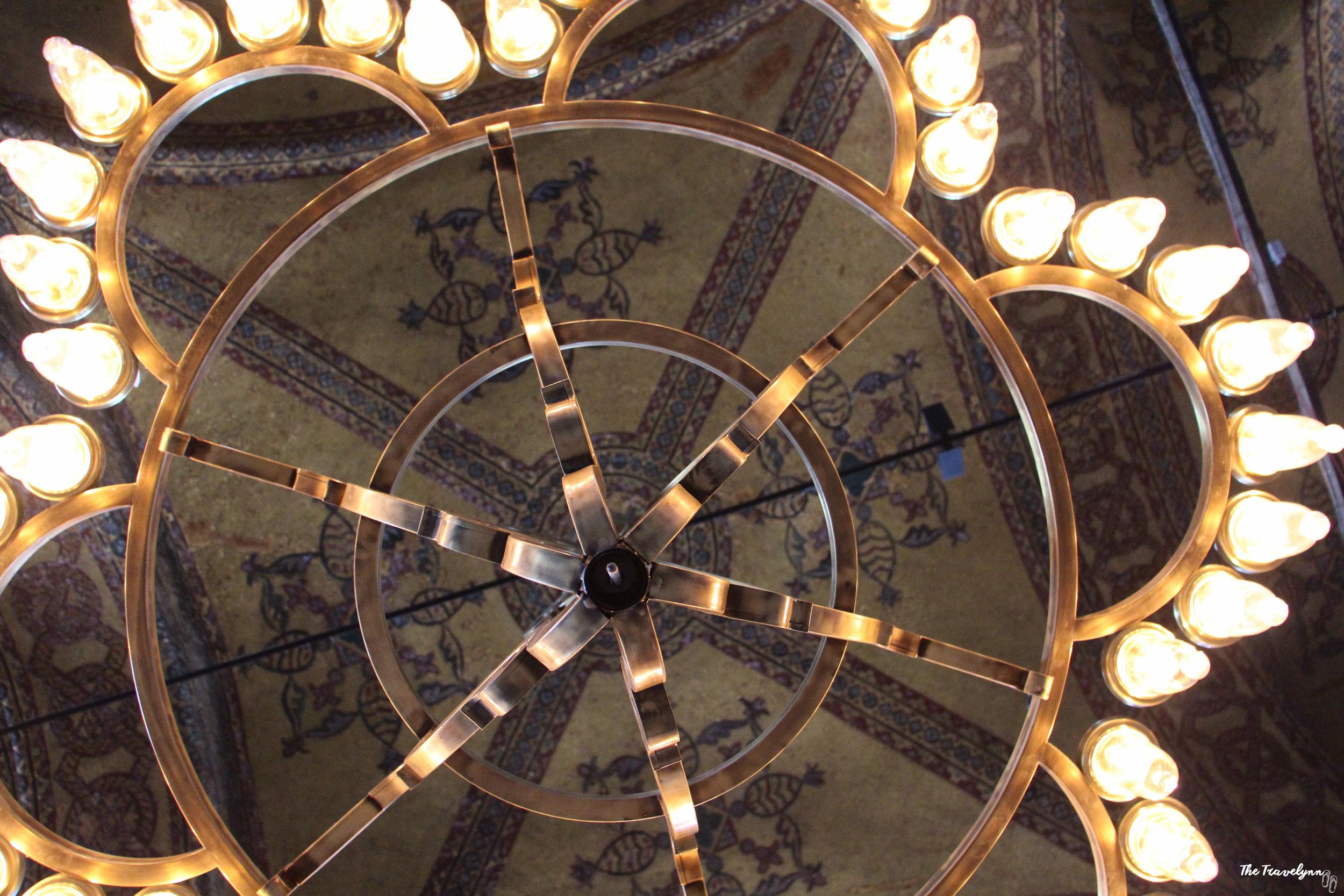 Hagia Sophia ceiling