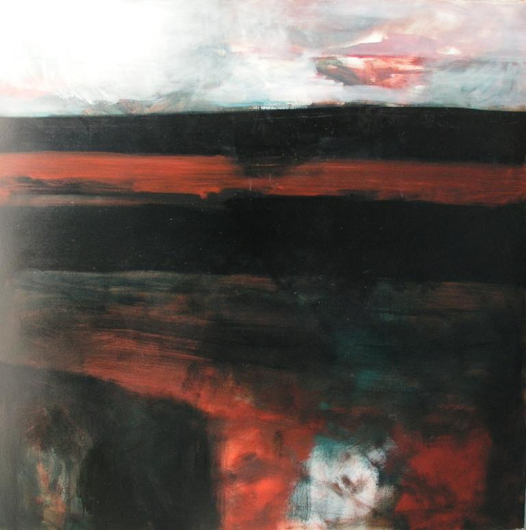Landscape I, 1996, oil on canvas, 1300x1300mm