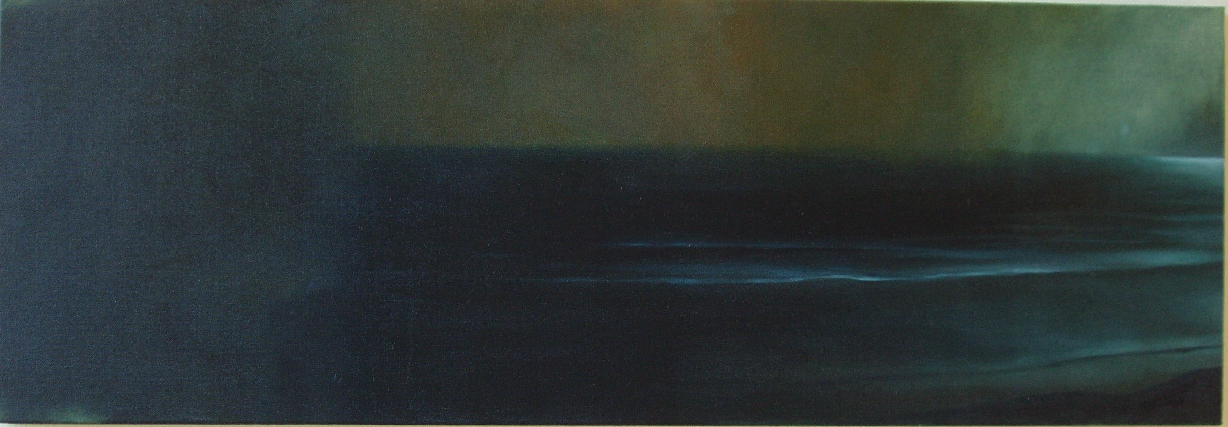To let drop like rain, 1000x400mm, oil on canvas, 2005