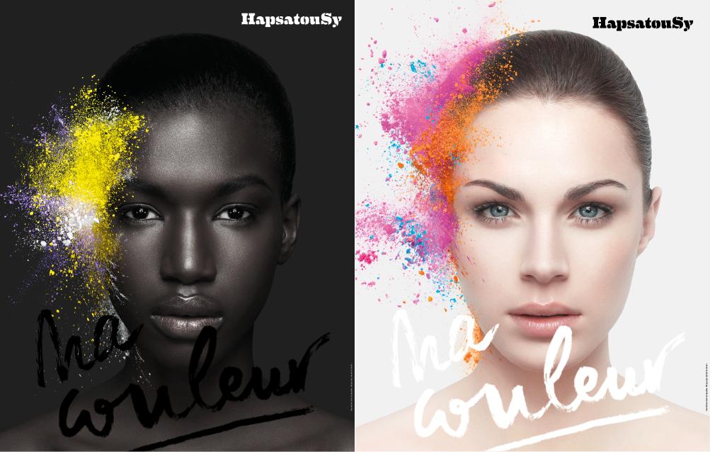 affiches de la campagne beauté