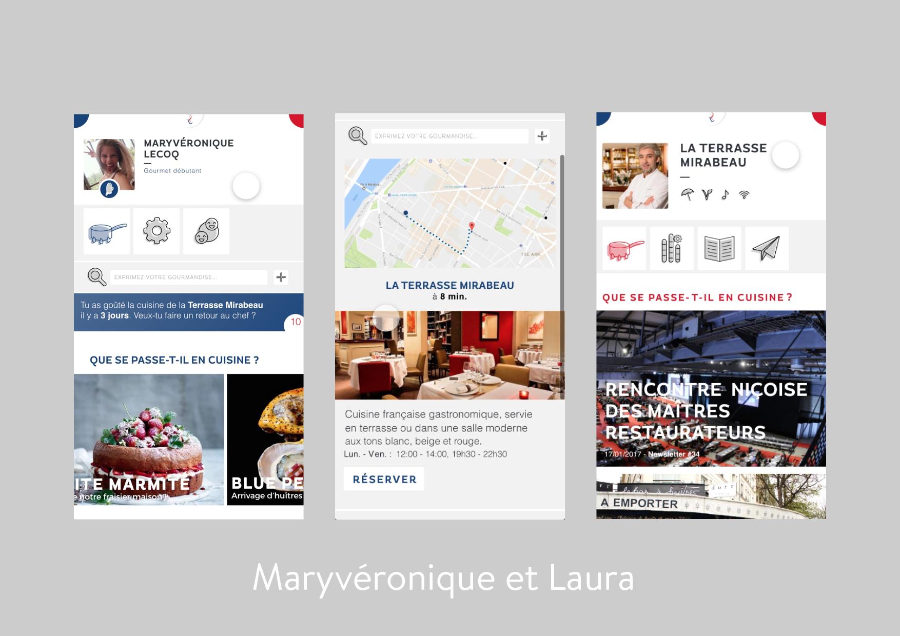Maryvéronique et Laura app