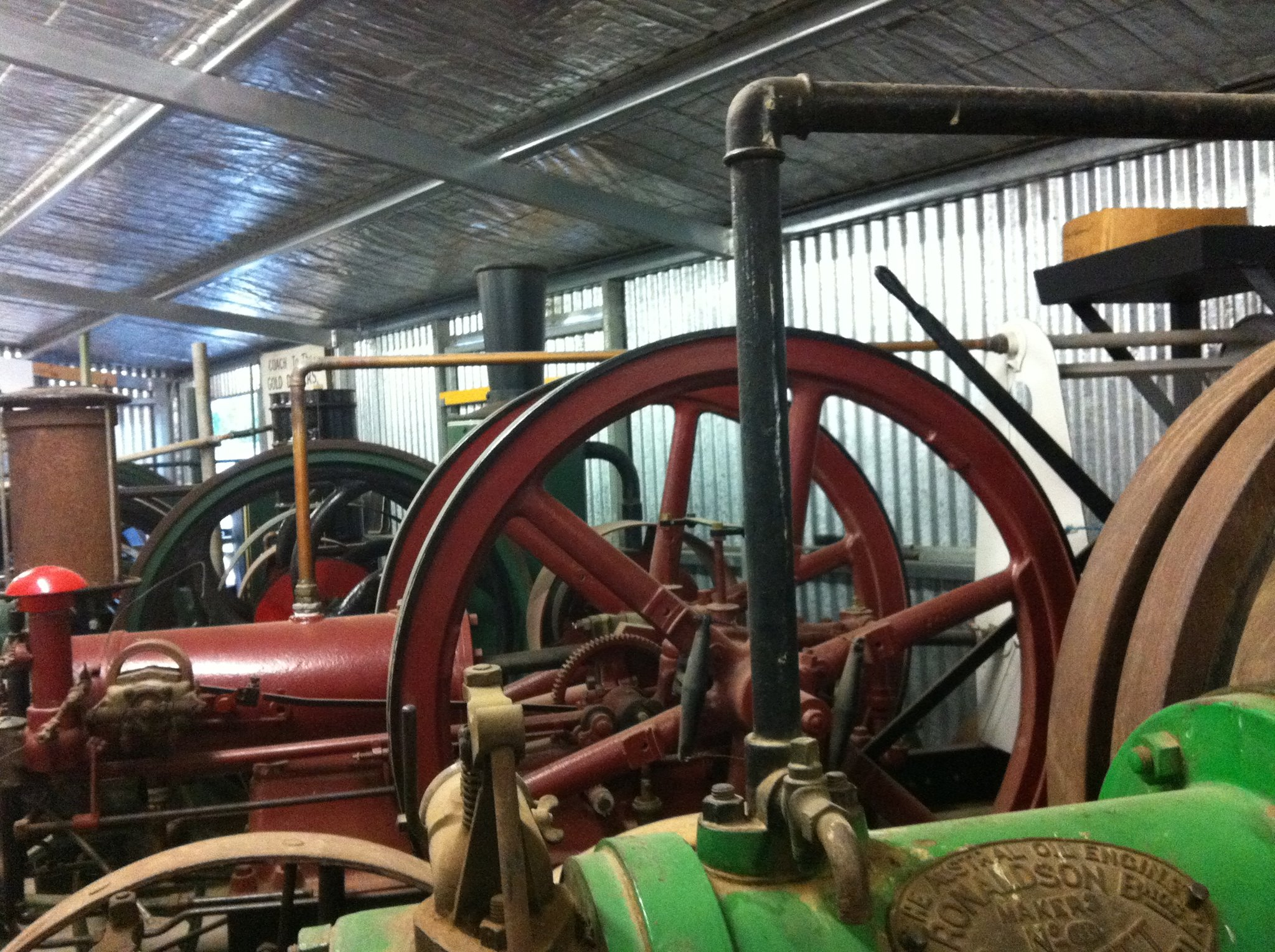 If you're into machines and how they work then the  Maldon Vintage Machinery Museum  is for you.  Featuring steam engines and generators from the 1870's.  If you're not convinced this is for you, check out the  reviews here on TripAdvisor . Click the image above for more information.