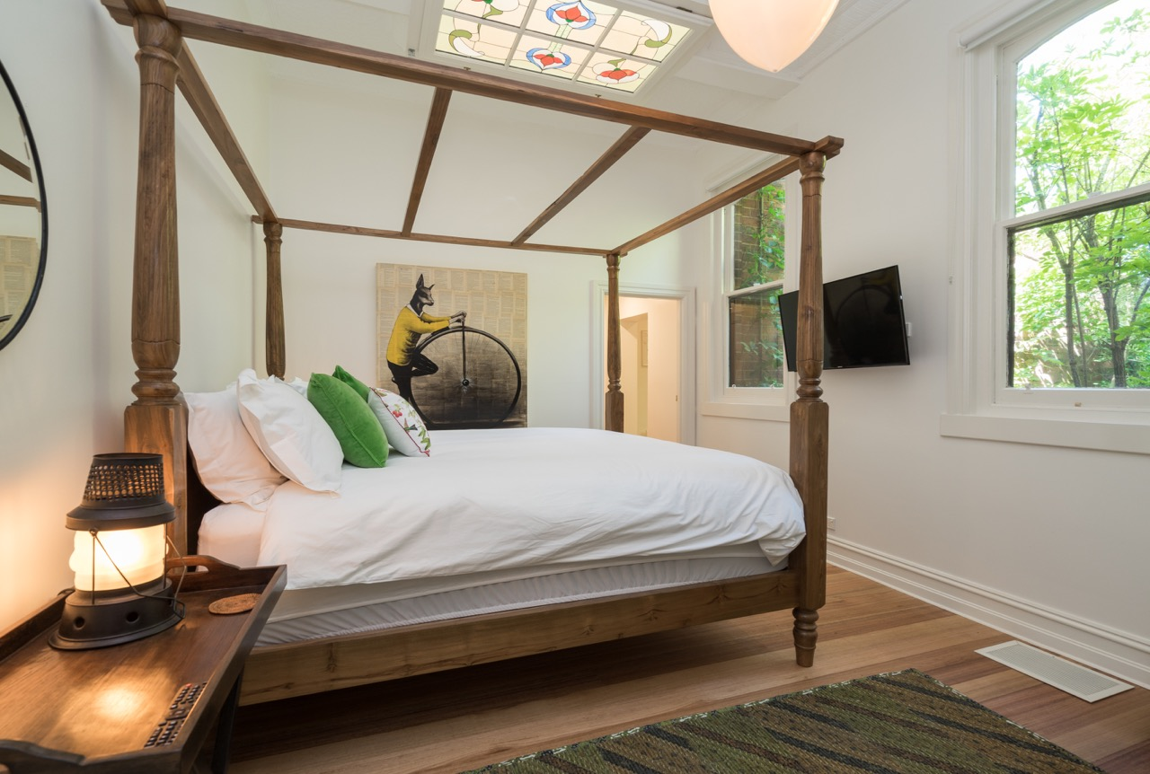 Master Bedroom with ensuite at The Eaglehawk Hotel Maldon