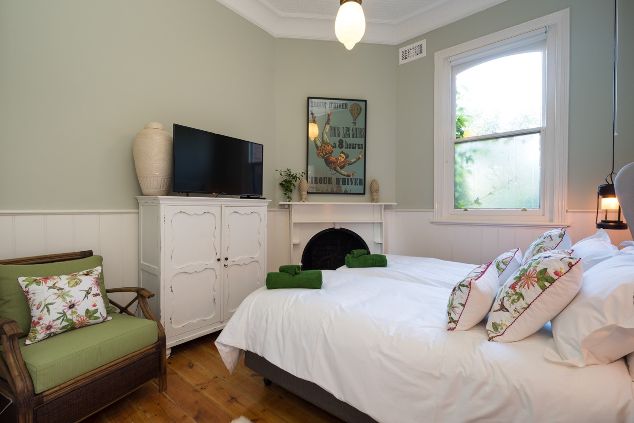 Bedroom at The Eaglehawk Hotel Maldon