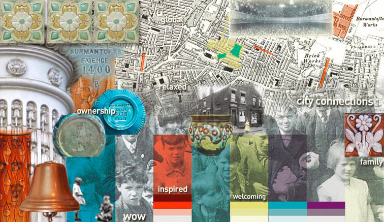 Concept Board & Colour Theory for The Bridge Community Church, Leeds