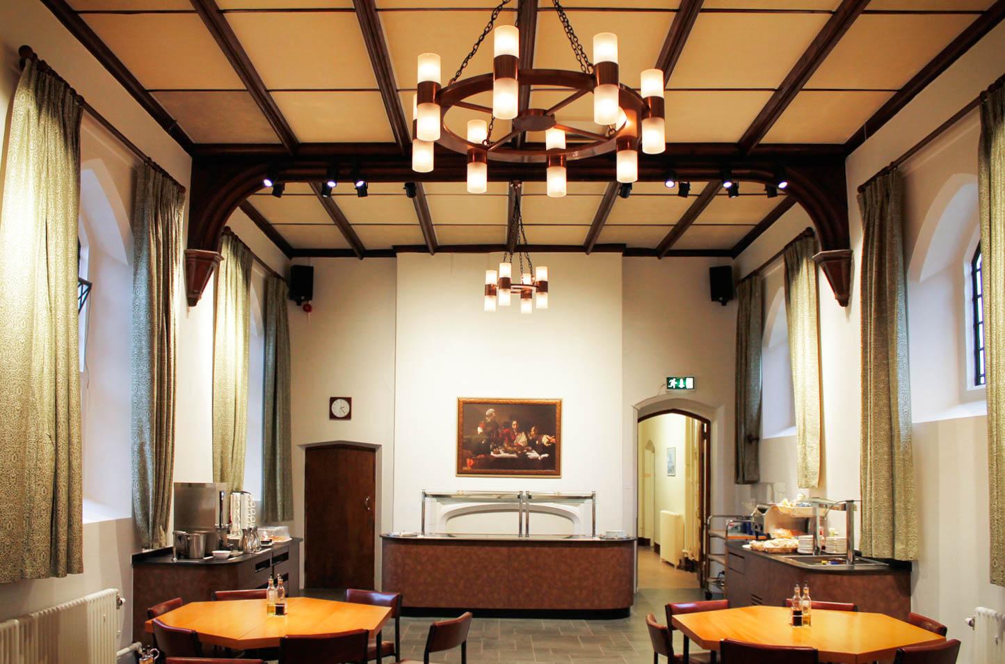 Interior design for historic building