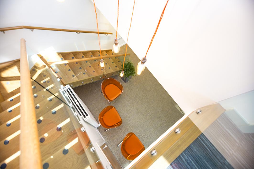 New Oak Stairwell