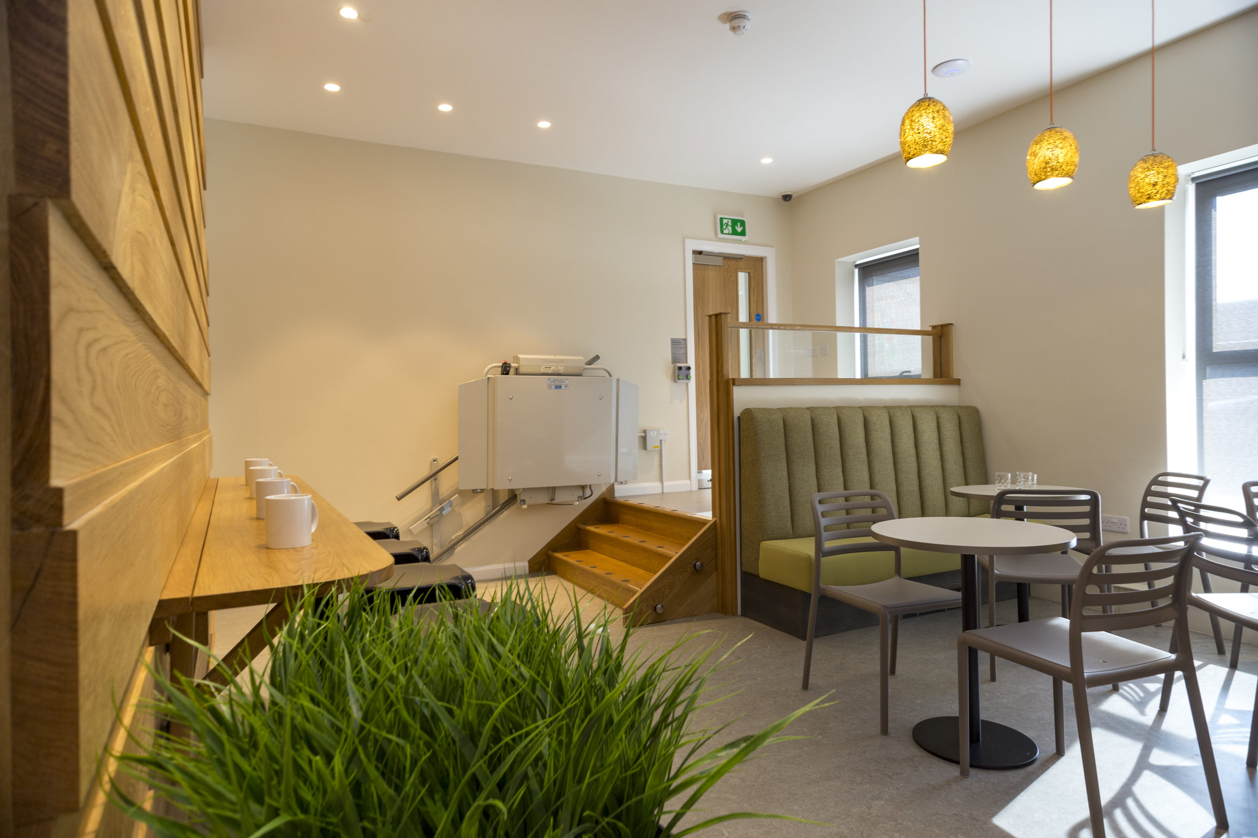 Coffee shop fit out