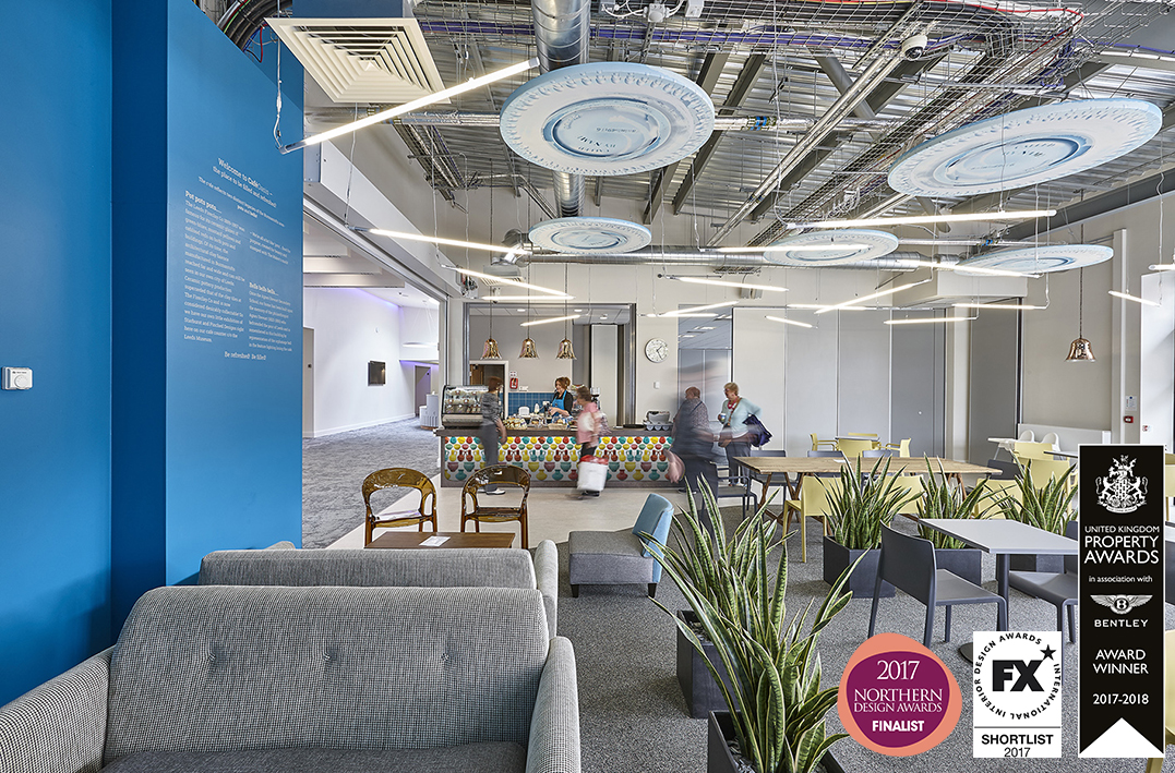 Fit out - Sourcing, costing, order, supply and space planning