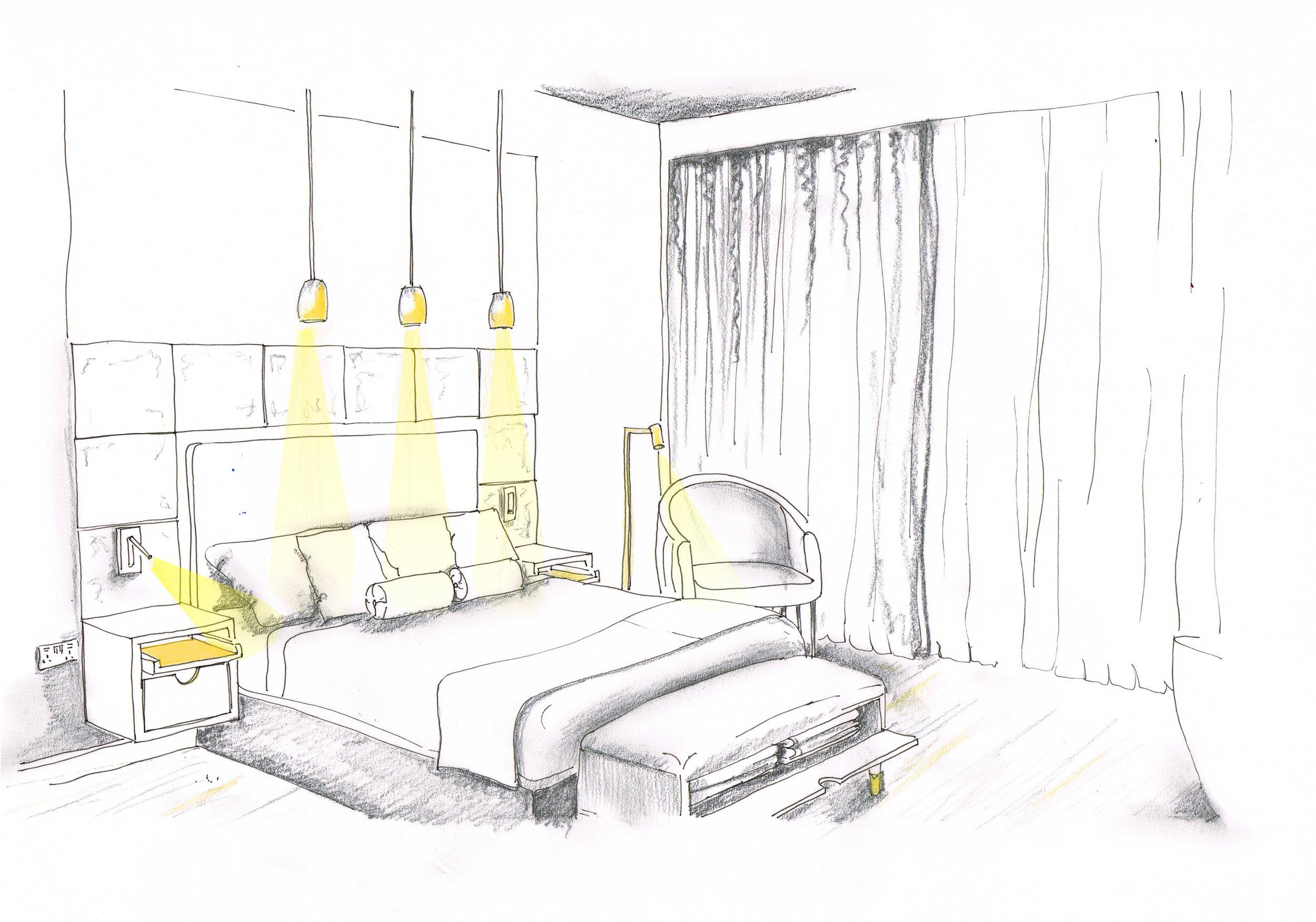 Sketch design hospitality