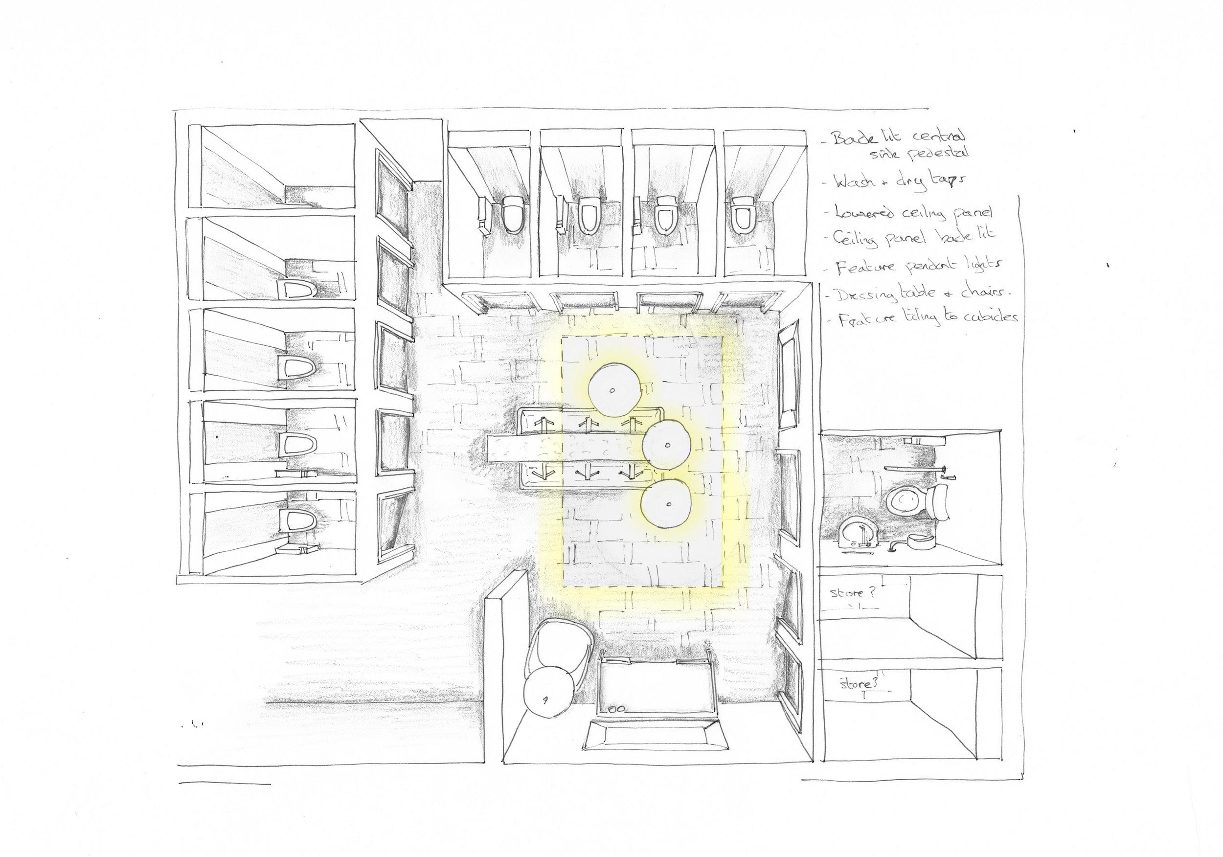 Sketch scheme public WC