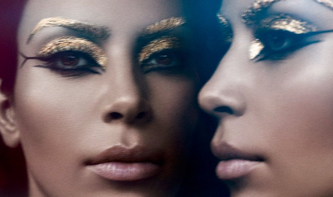 Kim Kardashian as Cleopatra by Pat MacGrath <3 <3 <3