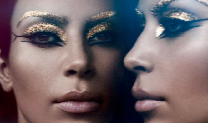 Kim Kardashian as Cleopatra by Pat MacGrath <3 <3 <3