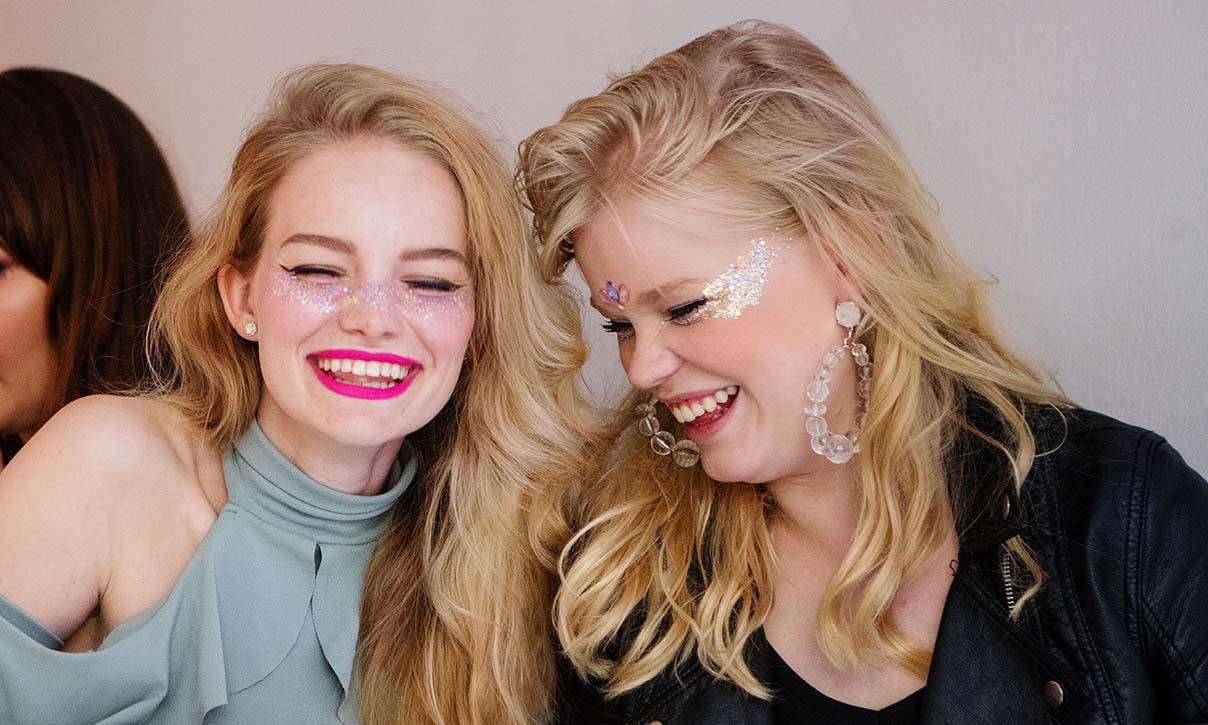 Glitter naurattaa <3