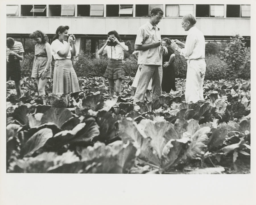 STUDENTS AT BMC, FROM THE BOOK LEAP BEFORE YOU LOOK