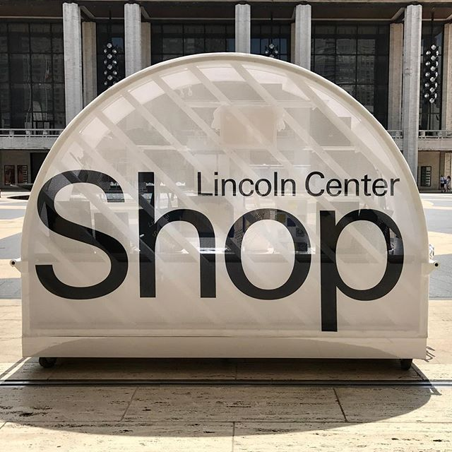 We chased the rain away with our newest retail project #AtLincolnCenter ☁️☀️
