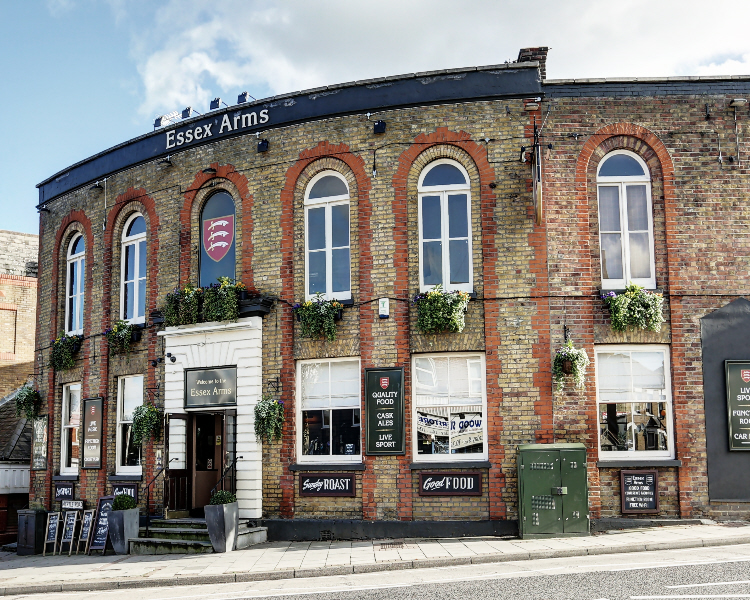 The Essex Arms in Brentwood