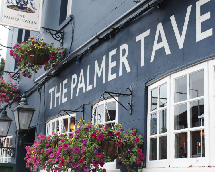 The Palmer Tavern in Reading