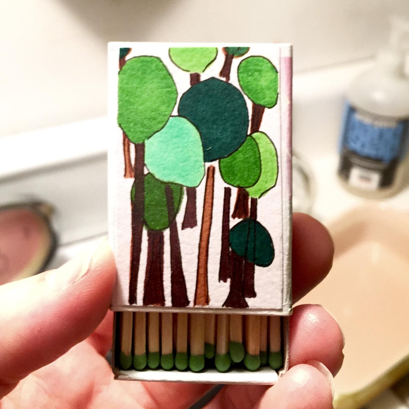 #17. Gustav's Trees