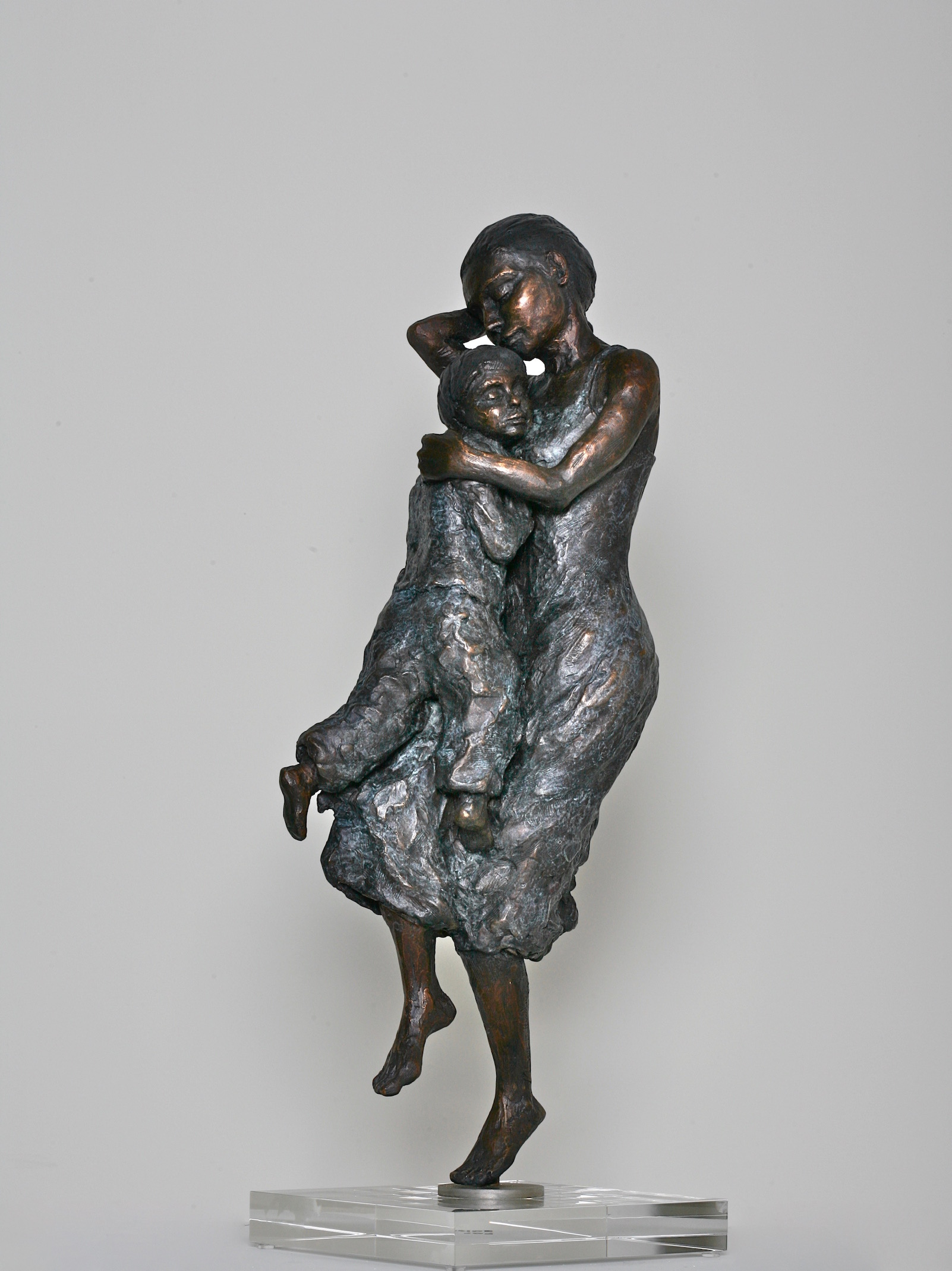 Madonna And Child - When You Call  Limited Edition of Twelve in Bronze  60cm tall
