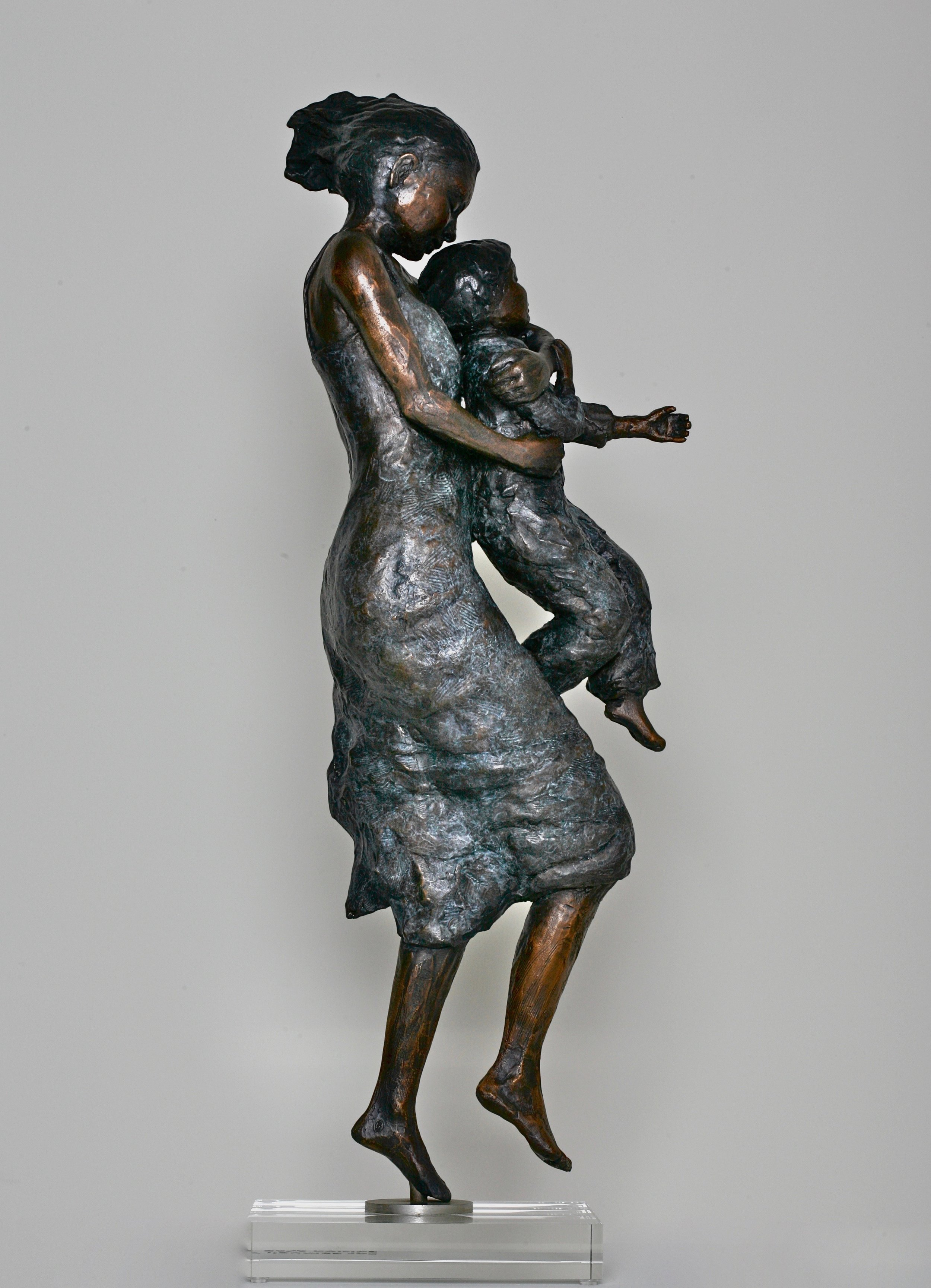 Madonna And Child -When You Sleep  Limited Edition of twelve in Bronze  60cm tall