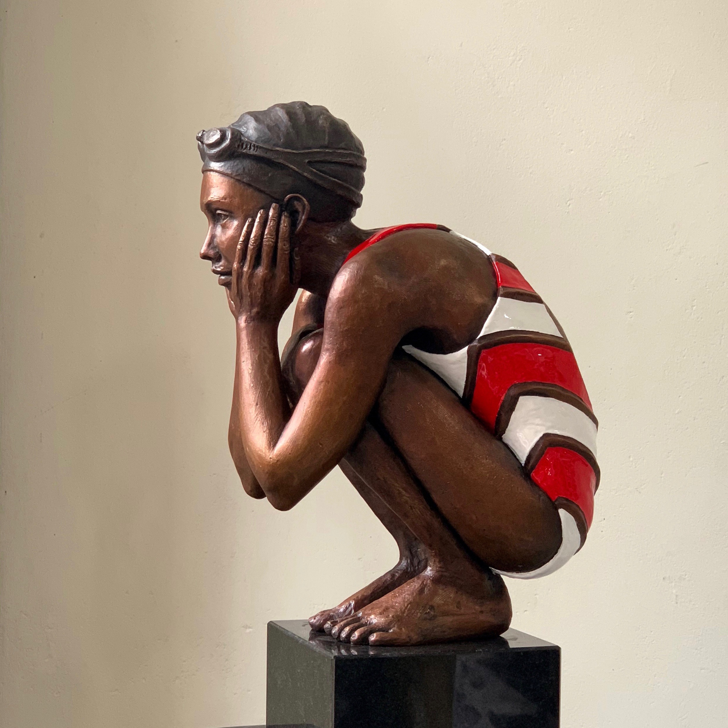 Awaiting your Return Maquette  Limited Edition of Seventeen in Bronze  35cm tall