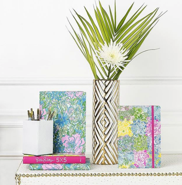 lilly pulitzer, a sunny florida brand with bright colors & fun patterns