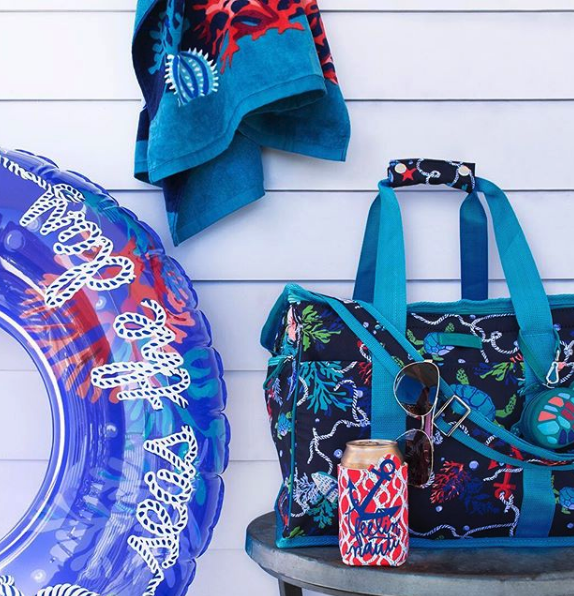 vera bradley, playful patterns for the more traditional