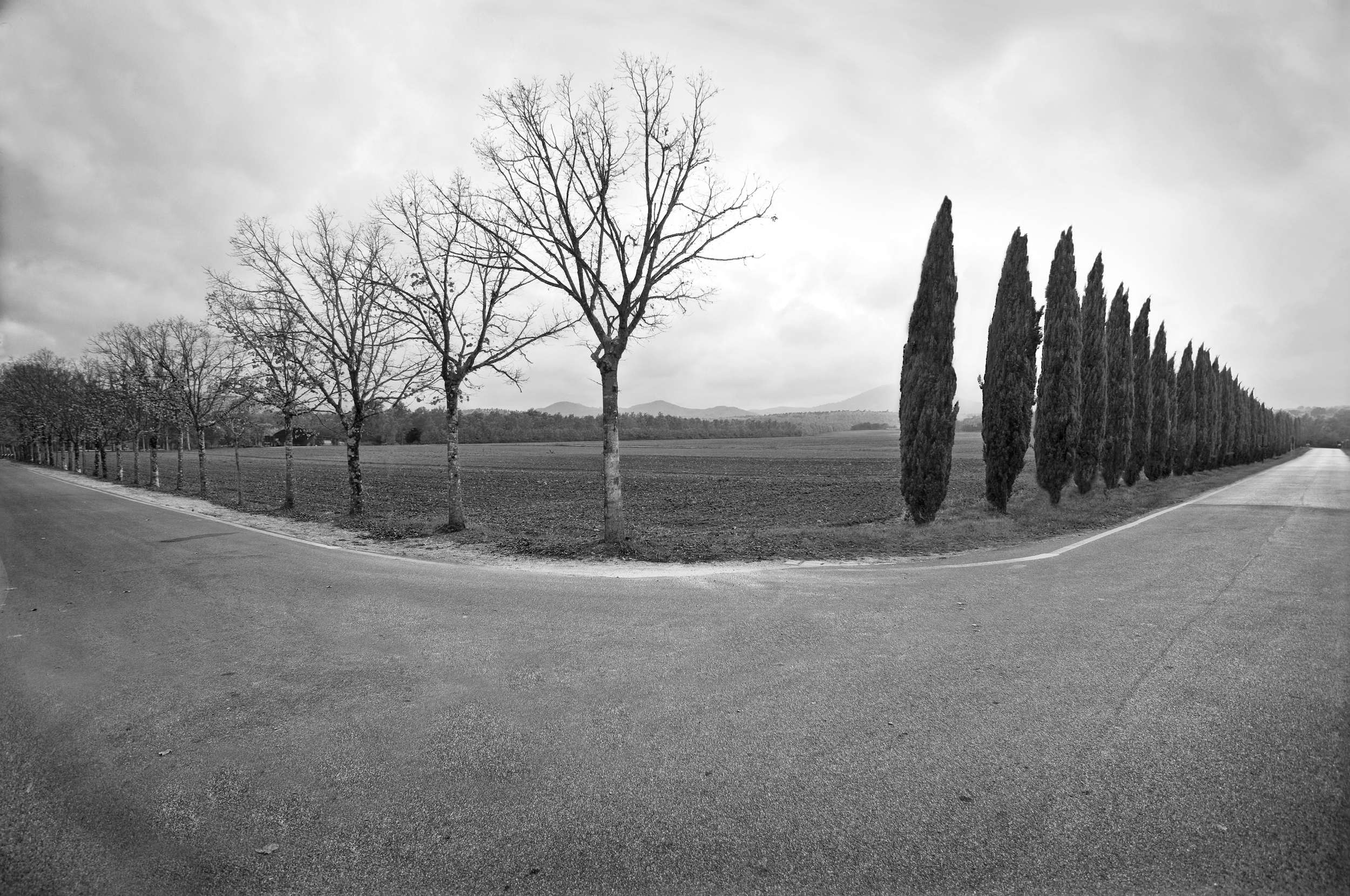 The Road to San Galgano