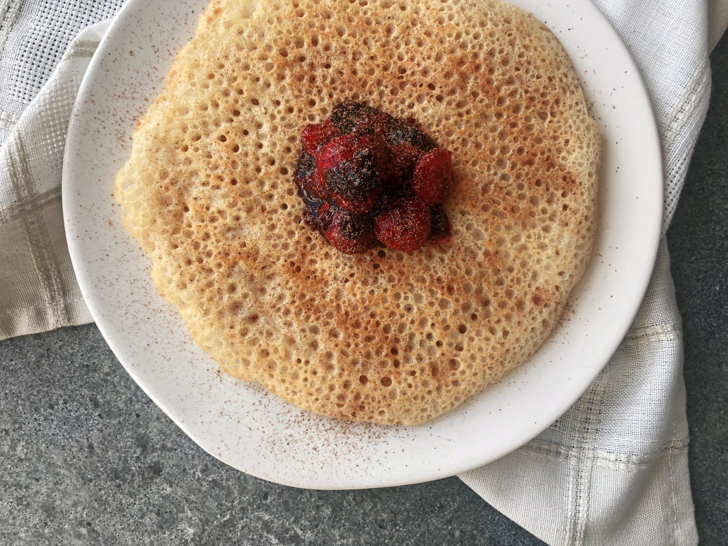 Aquafaba Swedish Pancakes Feast Freely