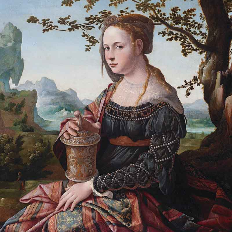 "Jan van Scorel, ""Mary Magdalene,"" circa 1530"
