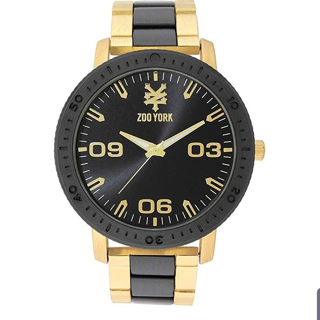 Check out our Black and Gold Zoo York Metal Sports Watch only a click away from your wrist! Available on Amazon (link in bio) . #zooyork #watches #watchesforhim #menwatch #skater #menfashion #zooyorkskateboards #fashion #giftsforhim #gold #ilovegold