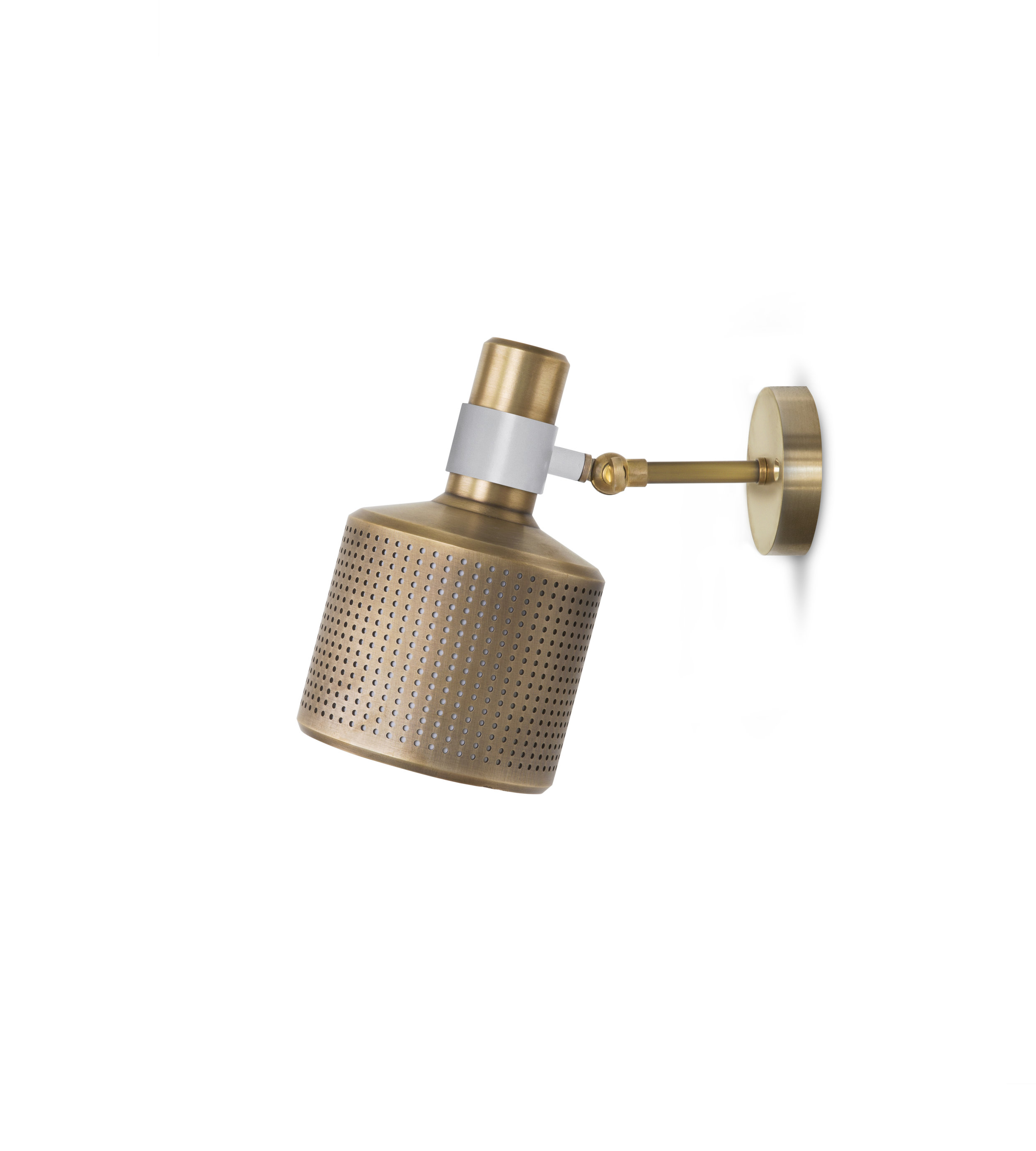 Bert Frank Riddle Wall Single Brass White.jpg