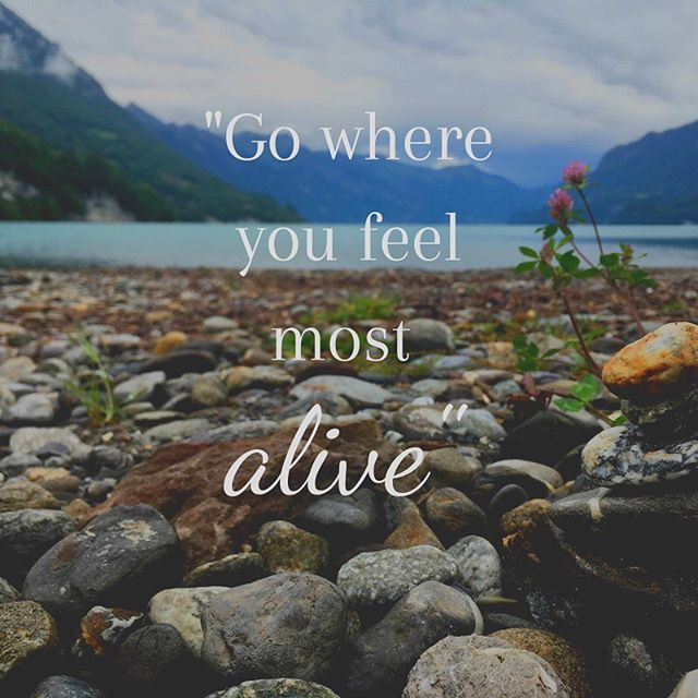 """Why not """"go where you feel most ALIVE?"""" ☀️ One of our leaders of The Outdoor Project OC shared this picture with us from her trip to Interlaken, Switzerland. 🦋 She expressed """"This was the BEST outdoor experiences of mine."""""""