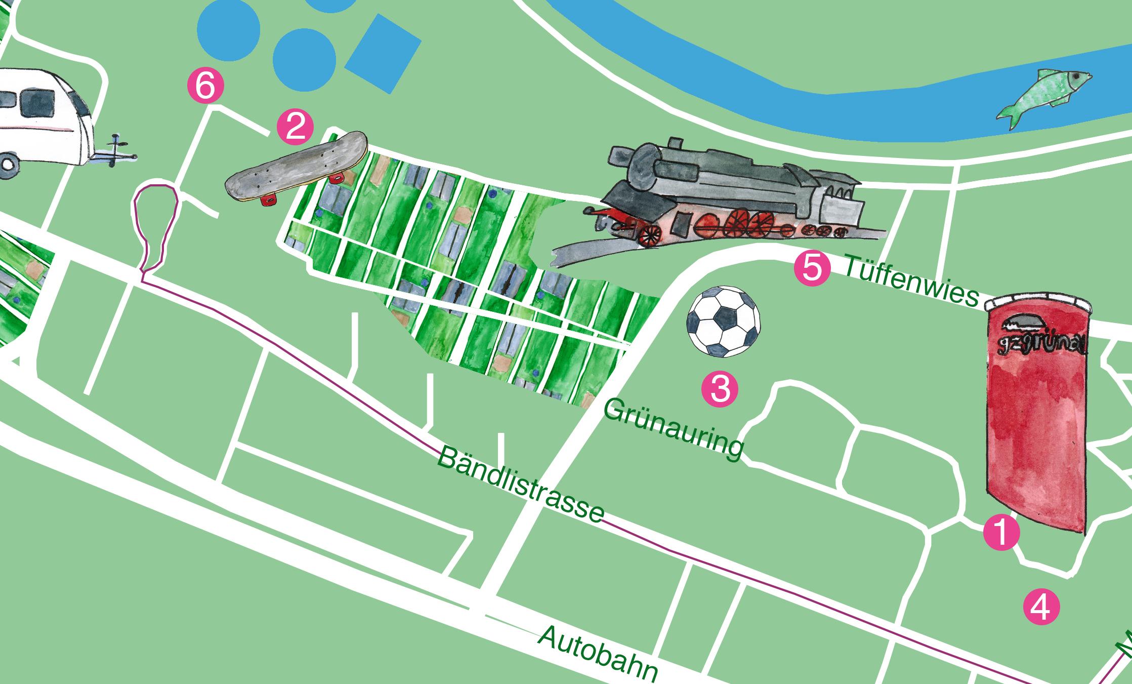 - Audio Collage GrünauGoggle Maps Links:1 … 2 … 3 … 4 … 5 … 6