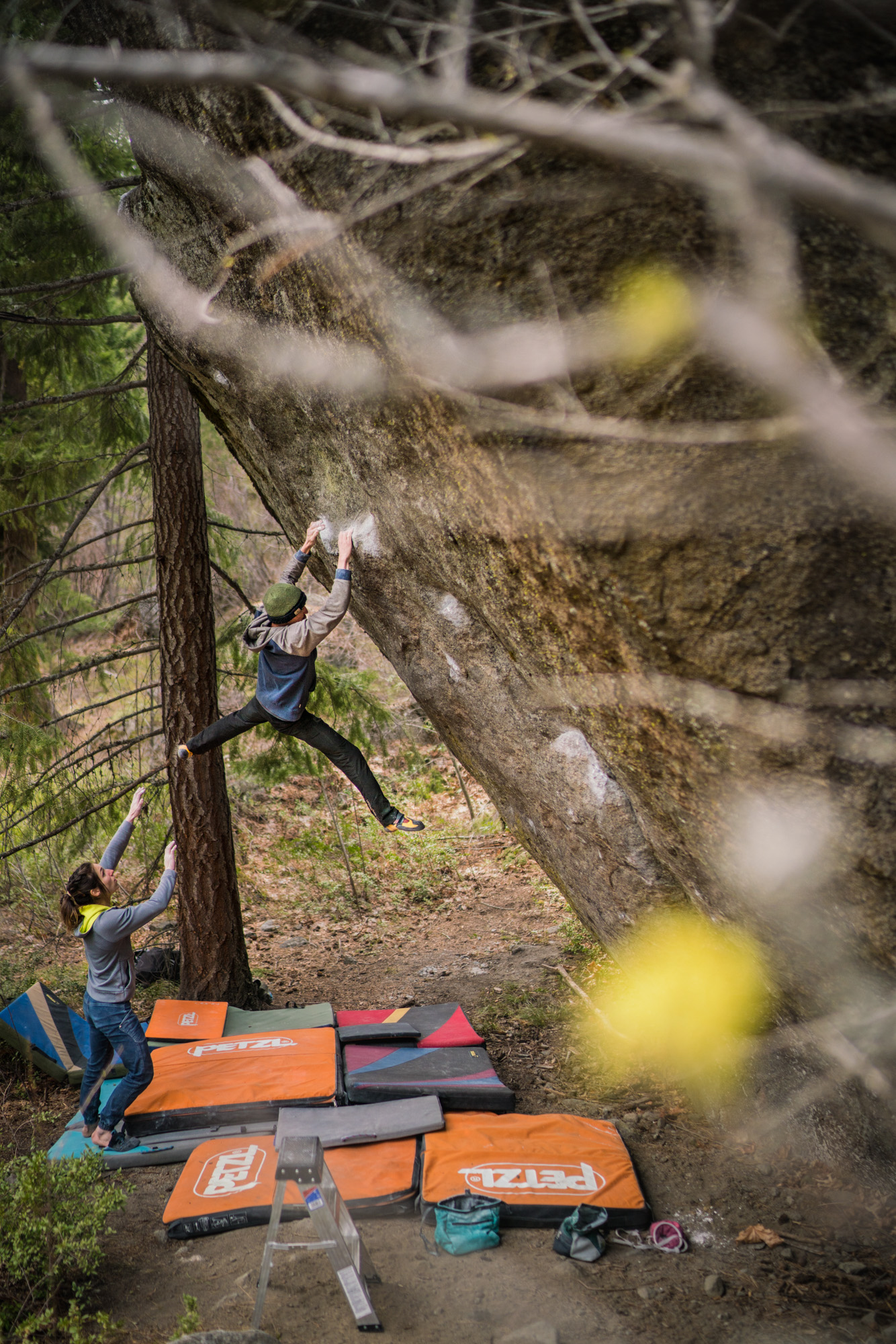 The Leavenworth Compendium   Keenan Takahashi mops up a dozen Leavenworth classics, then sets to work on The Penrose Step (V14), Washington's hardest boulder problem.