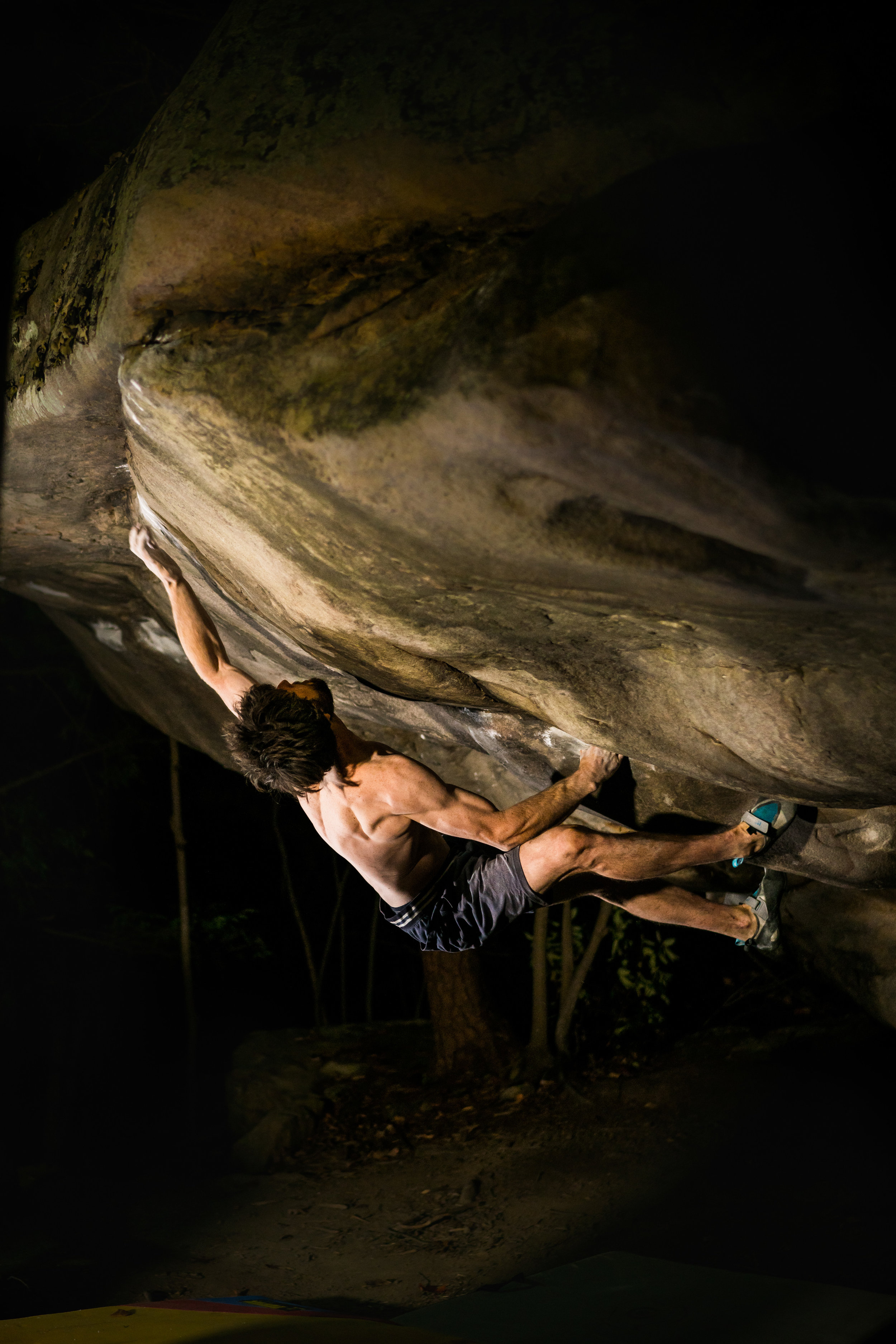 The beast unleashed: Jimmy Webb managed to claim five of the eight first ascents during his nine-day trip to the New.